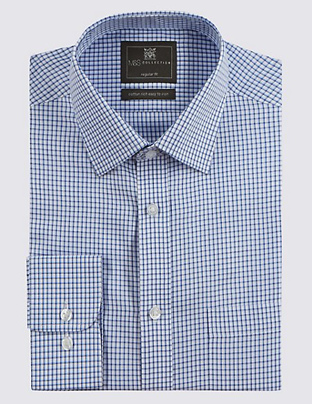 Easy to Iron Checked Shirt