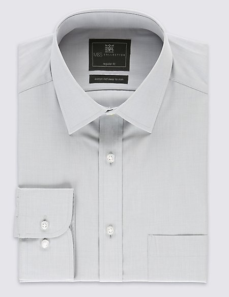 Easy to Iron Shirt with Pocket