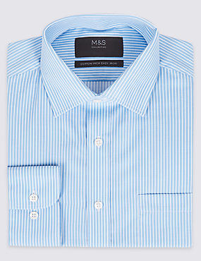 Cotton Rich Regular Fit Shirt