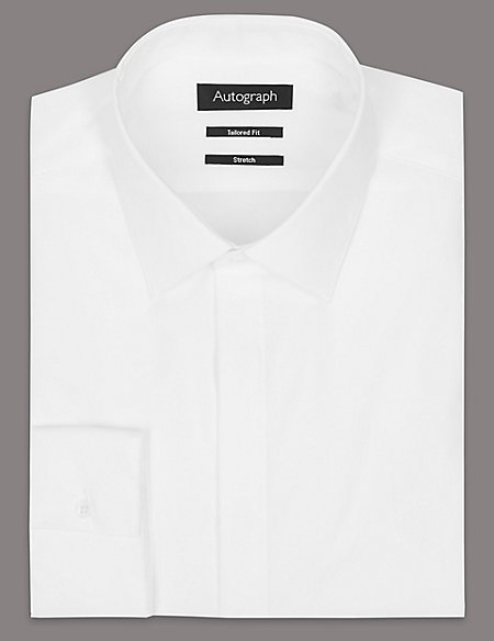 Supima® Cotton Rich Tailored Fit Shirt