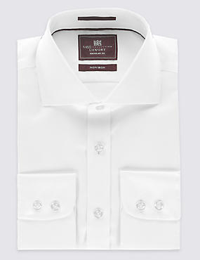 Tailored Fit Cutaway Collar Single Cuff Shirt
