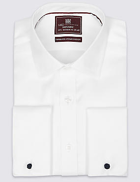 Regular Fit Classic Collar Double Cuff Shirt