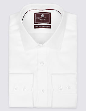 Regular Fit Classic Collar Single Cuff Shirt