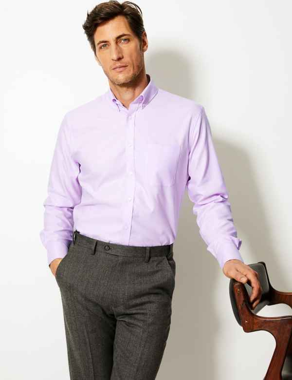 00ebee38a6 Pure Cotton Tailored Oxford Shirt