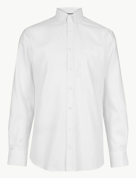 Pure Cotton Tailored Oxford Shirt