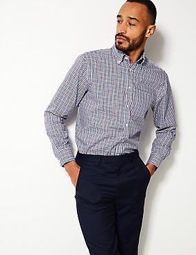 Pure Cotton Regular Fit Oxford Shirt