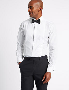 2in Longer Regular Fit Dinner Shirt