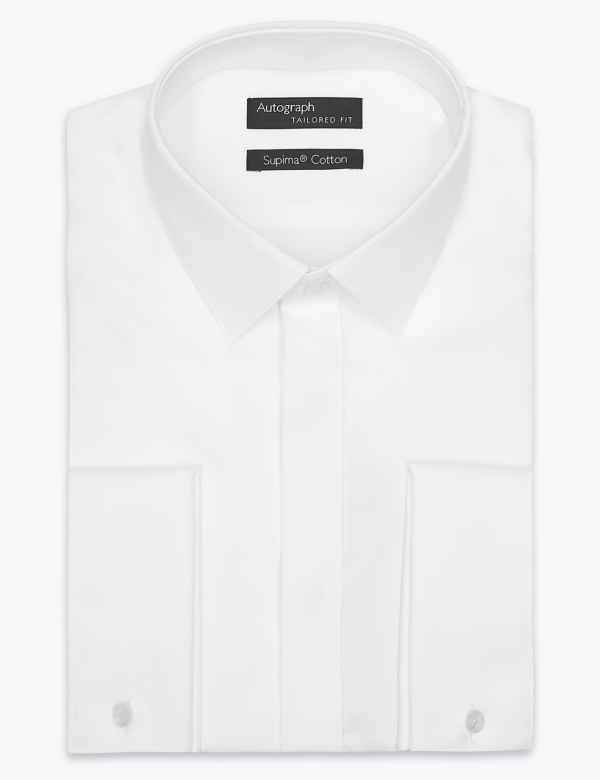 45f17df7f52 Supima® Cotton Tailored Fit Dinner Shirt