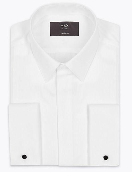 Pure Cotton Regular Fit Dinner Shirt