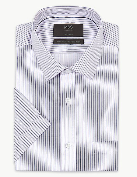 Pure Cotton Regular Fit Twill Shirt