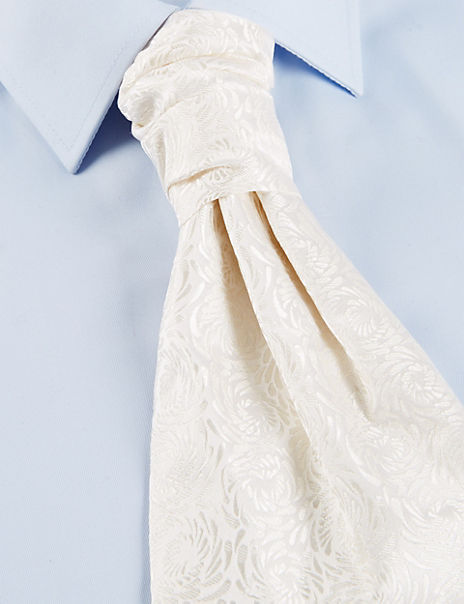 Pure Silk Wedding Cravat