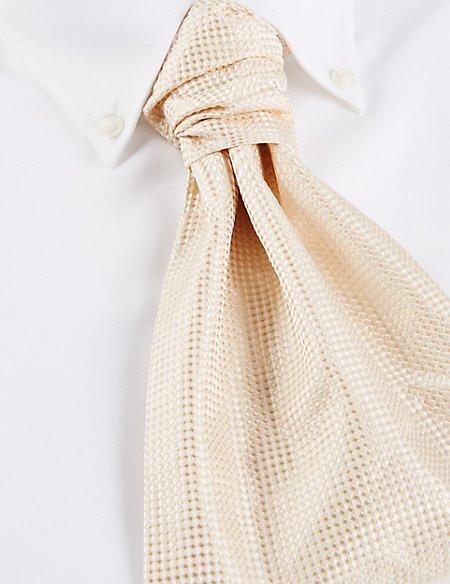 Pure Silk Waffle Cravat