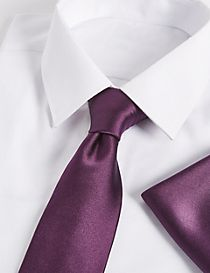 Pure Silk Tie & Pocket Square Set