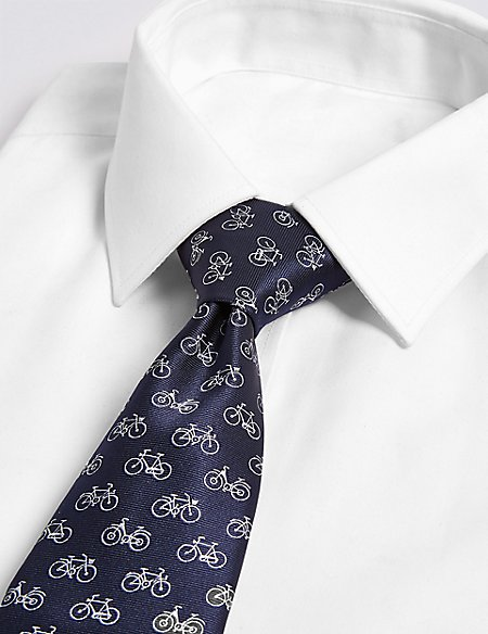Bicycle Tie & Cuff Set