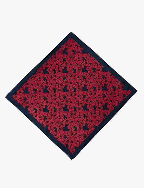 The Poppy Collection® Pure Silk Pocket Square