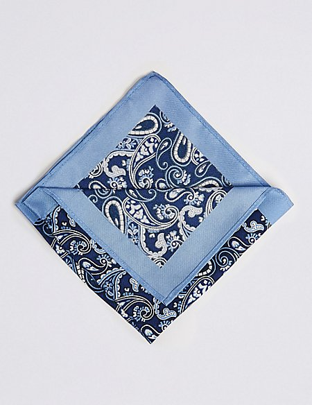 Pure Silk Floral Packet Square