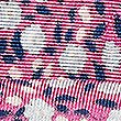 Pure Silk Floral Print Pocket Square , MAGENTA MIX, swatch