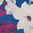 Taschentuch aus reiner Seide mit Blumenmuster, BLAU MELANGE, swatch