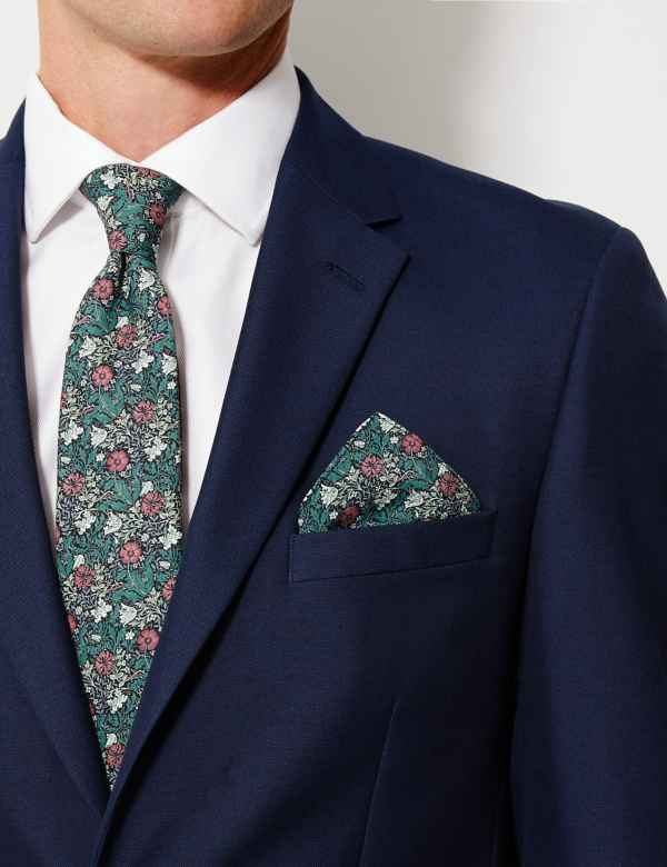 0f2dcf3561d0 Luxury Silk William Morris Pocket Square