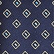 Geometric Design Tie, NAVY MIX, swatch