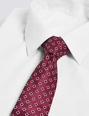 Geometric Print Tie