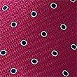 Outline Spot Tie, MAGENTA MIX, swatch
