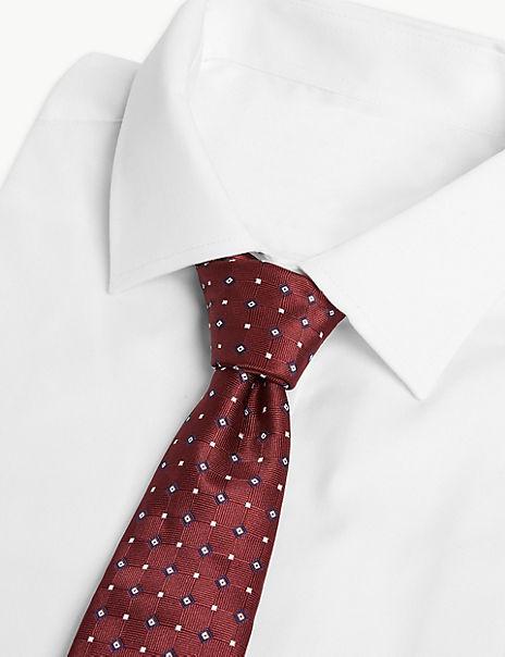 Slim Geometric Tie