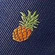 Pineapple Tie, NAVY MIX, swatch
