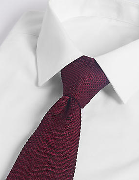 Wide Knitted Tie