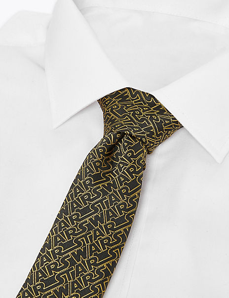 Slim Star Wars™ Logo Tie