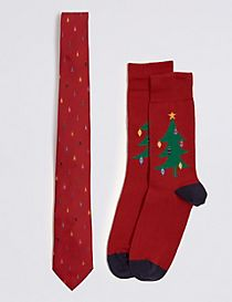 Novelty Tie & socks Set