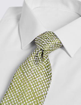 Pure Silk Textured Tie