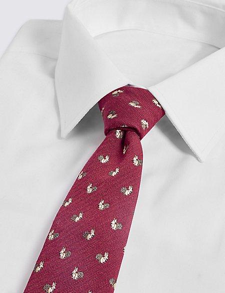 Wool Rich Squirrel Tie