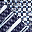 2 Pack Striped & Textured Ties, NAVY MIX, swatch