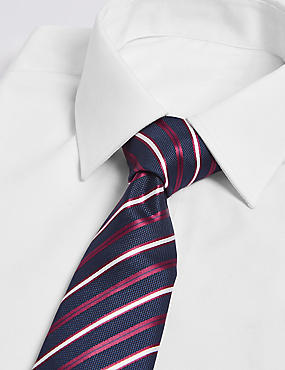 2 Pack Striped & Textured Ties
