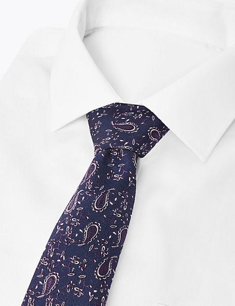 2 Pack Slim Paisley Ties