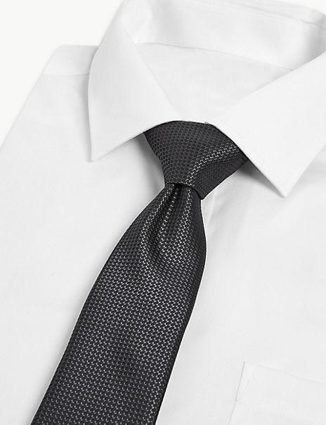 3 Pack Textured Slim Ties