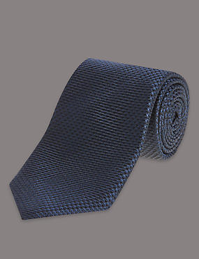 Pure Silk Premium Waffle Evening Tie