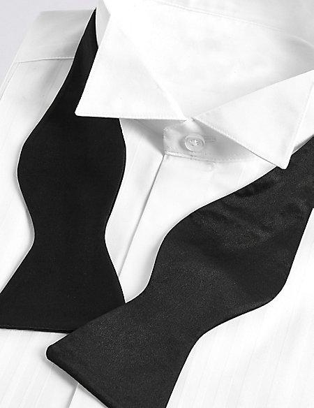 Pure Silk Self-Tie Bow Tie