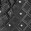 Geometric Bow Tie, BLACK MIX, swatch
