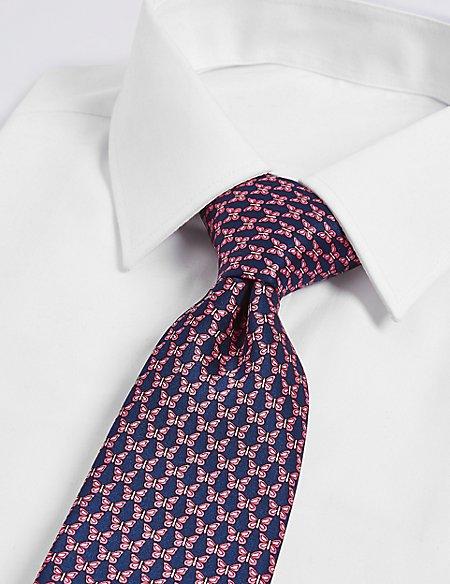 Pure Silk Printed Tie