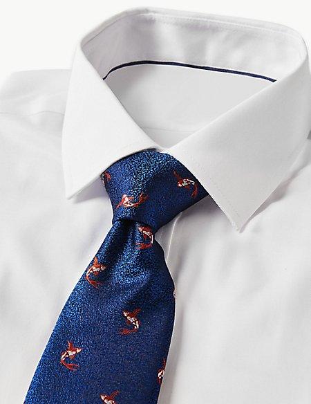 Pure Silk Carp Tie