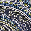 Pure Silk Paisley Tie, CHARTREUSE, swatch
