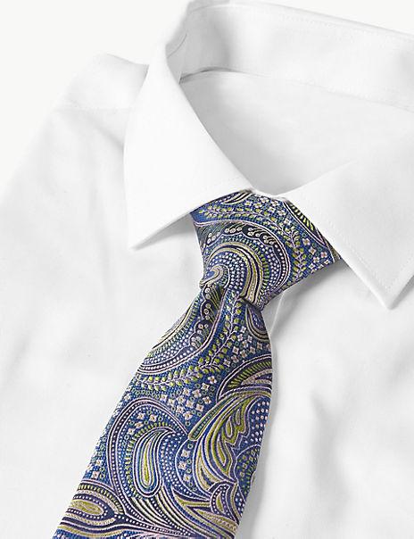 Pure Silk Paisley Tie