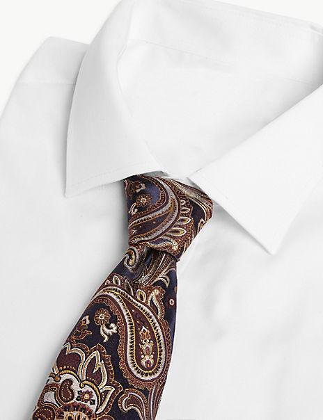 Luxury Silk Paisley Tie