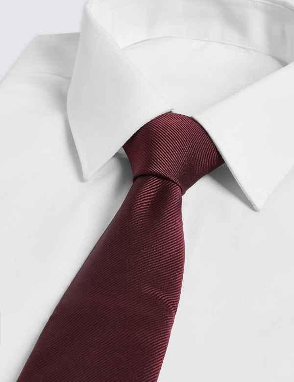 b511eb9a3714 Pure Silk Satin Twill Tie