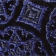 Pure Silk Foulard Tie Made with Swarovski® Elements, NAVY MIX, swatch