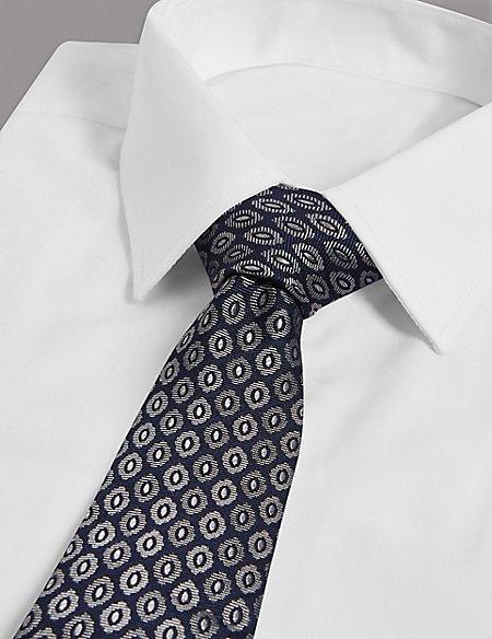 Pure Silk Foulard Tie