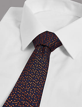 Pure Silk Micro Star Tie