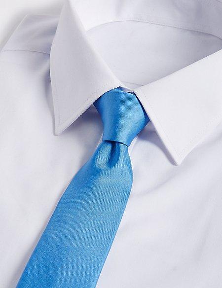 Longer Length Pure Silk Tie